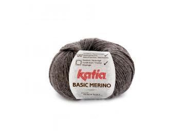 Basic Merino Farbe 8 dunkelgrau