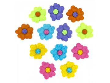 Schnörkel Blumen