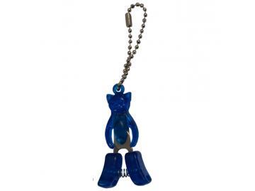Katzen-Schere blau