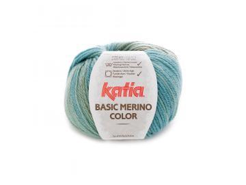 Basic Merino color Farbe 200 grünblau-braun