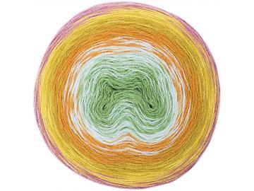 Wool Dégradé super 6 Farbe 010 beere-grün