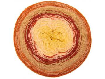 Wool Dégradé super 6 Farbe 017 rot-senf