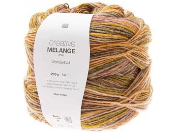Creative Melange AR Wonderball  Farbe 002 orange-grün-beigebraun