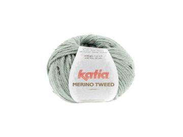 Merino Tweed Farbe 313 resedagrün