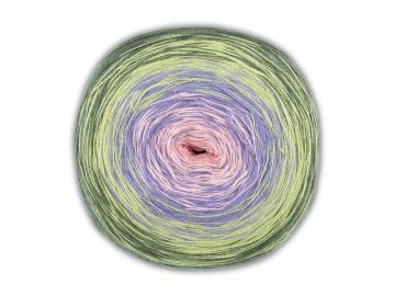 Bobbel Cotton Farbe 53 rose-flieder-hellgrün-dunkelgrün