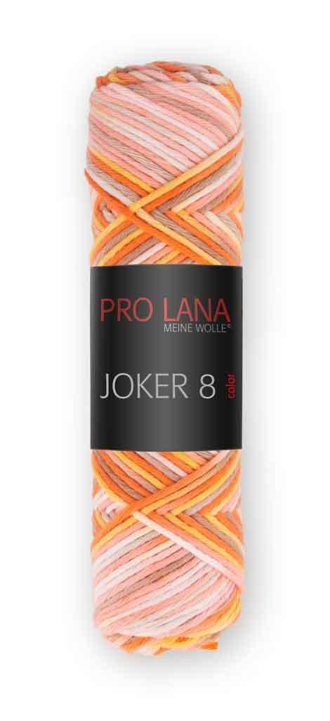 Joker 8 color Farbe 540 weiß-natur-orange