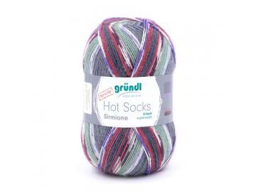Hot Socks Sirmione 01 blaugrau-bunt