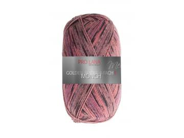 Golden Socks Mont Blanc Farbe 510 grau-bordeaux