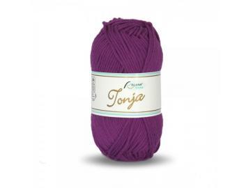 Tonja Schulgarn Farbe 335 lila