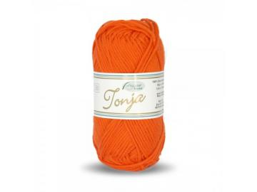 Tonja Schulgarn Farbe 324 orange