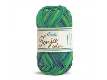 Tonja color Schulgarn Farbe 405 apfel-grün-blau