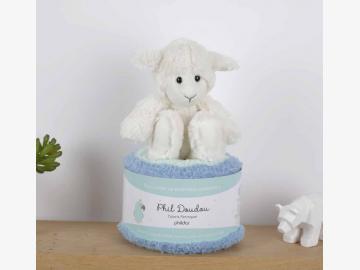Phil Doudou peroquet natur-hellblau-lindgrün 2371