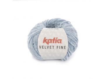 Velvet fine Farbe 205 himmelblau