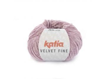 Velvet fine Farbe 206 hellmalve