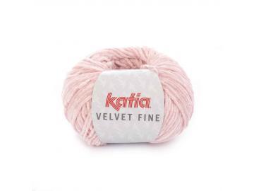 Velvet fine Farbe 207 hellrosa