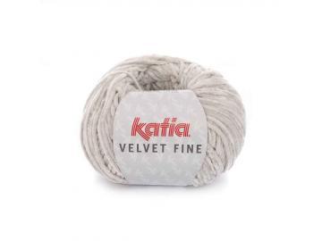 Velvet fine Farbe 208 hellgrau