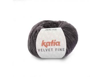 Velvet fine Farbe 210 anthrazitgrau