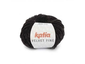 Velvet fine Farbe 211 schwarz