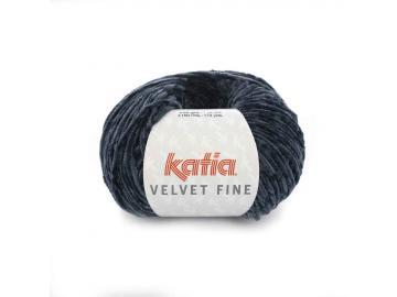 Velvet fine Farbe 212 dunkelblau