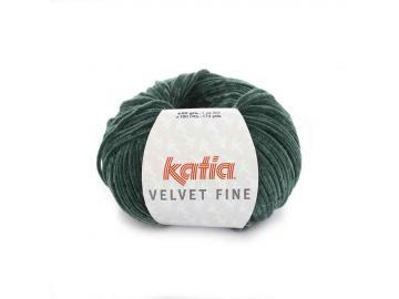 Velvet fine Farbe 214 flaschengrün