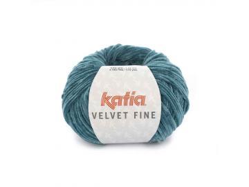 Velvet fine Farbe 215 grünblau