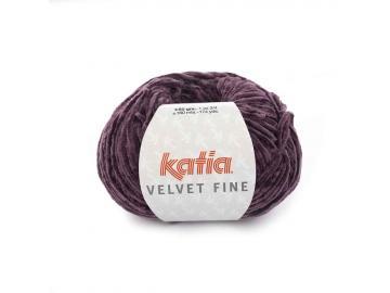 Velvet fine Farbe 216 perlbrombeer