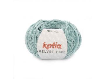 Velvet fine Farbe 218 weißgrün