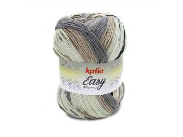 Easy Jacquard Farbe 350 braun-grau