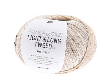 Fashion Light & Long Tweed Farbe 002 lachs-hellblau