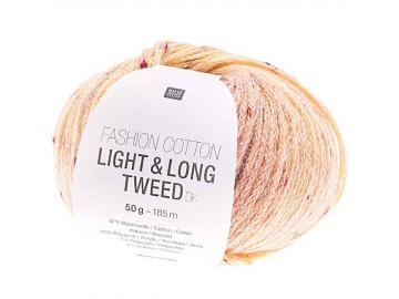 Fashion Light & Long Tweed Farbe 004 vanille-rosa