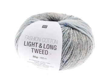 Fashion Light & Long Tweed Farbe 006 blau