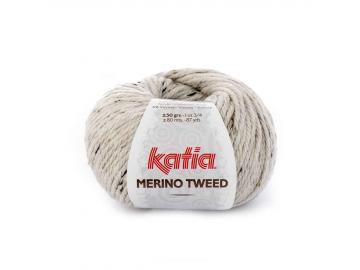 Merino Tweed Farbe 300 naturweiß