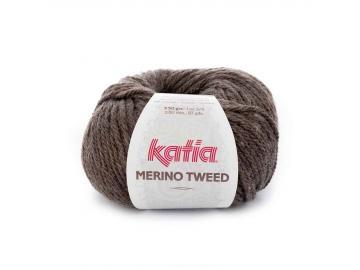 Merino Tweed Farbe 303 braun