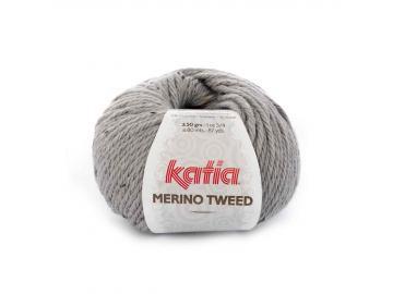 Merino Tweed Farbe 307 hellgrau