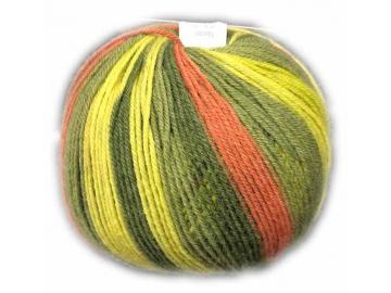 Vielseitige 210 Farbe V313/19 hellgrün-grün-olive-orange