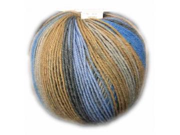 Vielseitige 210 Farbe V316/19 hellblau-blau-grau