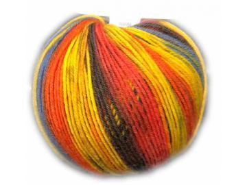 Vielseitige 210 Farbe V317/19 gelb-orange-olive