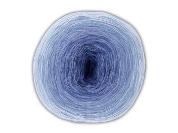 Bobbel Cotton Farbe 29 hellblau-blau