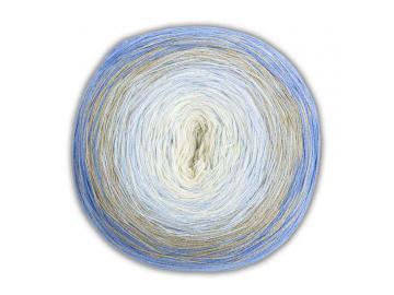 Bobbel Cotton Farbe 49 natur-hellblau-hellgrau-blau