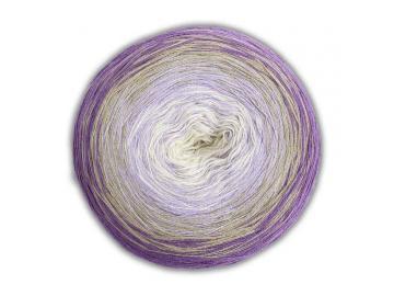 Bobbel Cotton Farbe 47 helllila-hellgrau-flieder