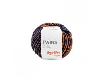 Twins Farbe 157 bordeauxviolett-orange-blau