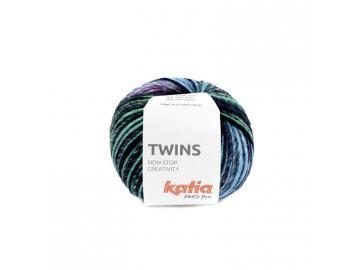 Twins Farbe 158 gelb-grün-blau-fuchsia