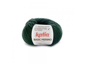 Basic Merino Farbe 15 sehr dunkelgrün