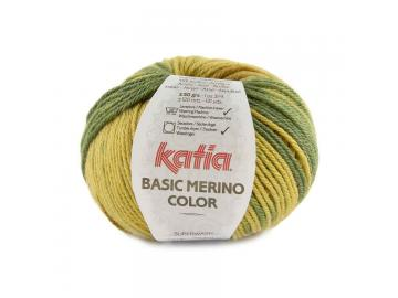 Basic Merino color Farbe 212 grün-ockerbraun