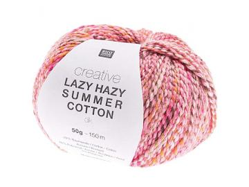 Creative Lazy Hazy Summer Cotton Farbe 006 pink