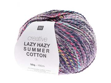 Creative Lazy Hazy Summer Cotton Farbe 007 lila
