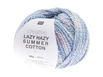 Creative Lazy Hazy Summer Cotton Farbe 008 blau