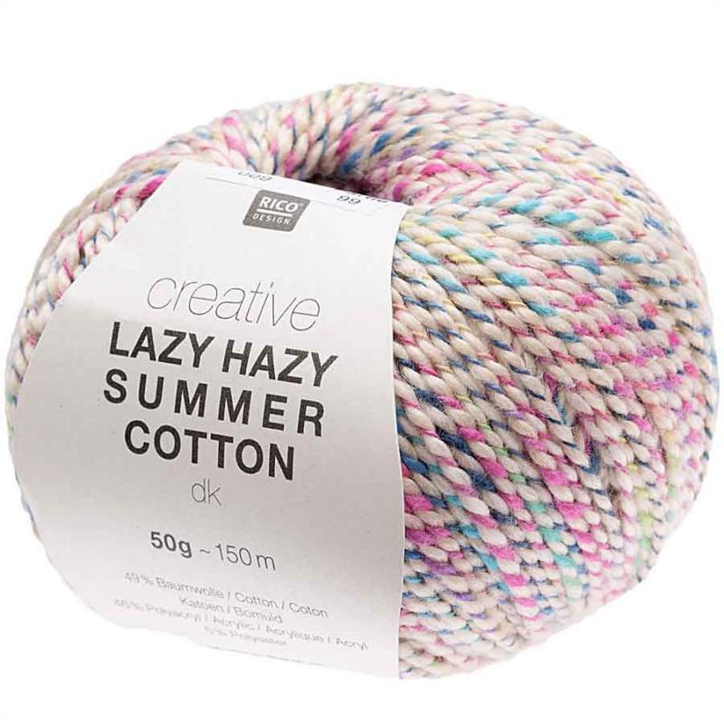 Creative Lazy Hazy Summer Cotton Farbe 009 buttercreme