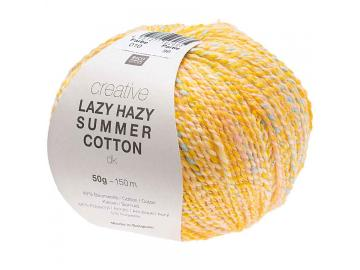 Creative Lazy Hazy Summer Cotton Farbe 010 gelb