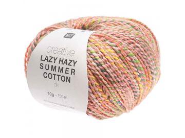 Creative Lazy Hazy Summer Cotton Farbe 011 flamingo